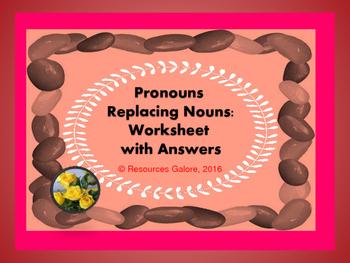 Pronouns Replacing Nouns