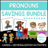 Pronouns Speech Therapy Bundle