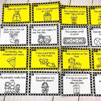 Pronoun Scoot Game/ Task Cards