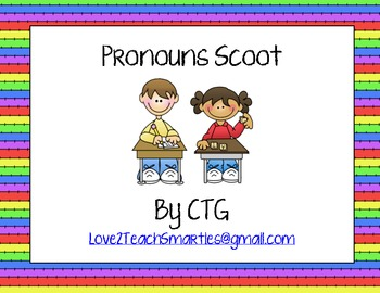 Pronouns Scoot