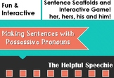 Pronouns - Sentence Building with his, him, her, hers