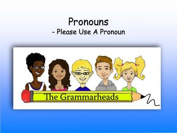 Pronouns Slide Show - PowerPoint Lesson