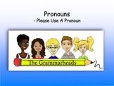 Pronouns Slide Show - PowerPoint Lesson