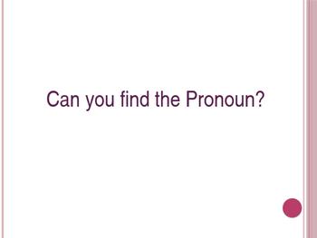 Pronouns Slideshow