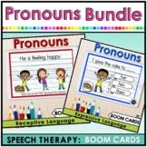 Pronouns Speech Therapy   Expressive and Receptive Languag