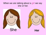 Pronouns- Subjective Gender