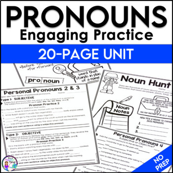 Pronouns Subjective and Objective Unit
