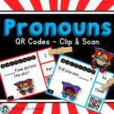 Pronouns QR Code Task Cards