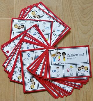 Pronouns Task Cards
