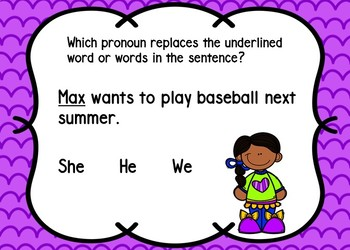 Pronouns BOOM Cards Set 1 {Digital Task Cards}