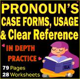 Pronouns Usage | Pronouns Cases | Pronoun References | ELA Tests and Reviews
