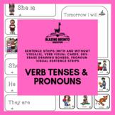 Pronouns | Verb Tenses | Speech Therapy | Language | Present Tense | Past Tense