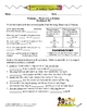 Pronouns Worksheet Packet and Lesson Plan - 8 pages with answer key