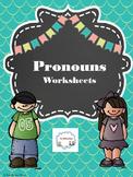 Pronouns Worksheets