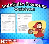 L.1.1.D - Indefinite Pronouns Worksheets