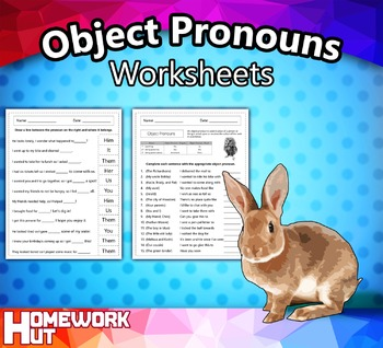 Object Pronouns Worksheets