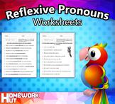Reflexive Pronouns Worksheets