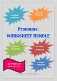 Pronouns: Worksheets Bundle!