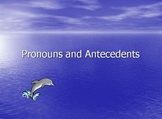 Pronouns and Antecedents Powerpoint