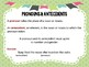 Pronouns and Antecedents QR Code Task Cards, Board Game & SCOOT