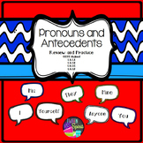 Pronouns and Antecedents- Teach, Review, and Practice