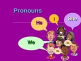 Pronouns (and a list of possesive pronouns)