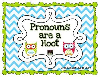Pronouns are a Hoot!