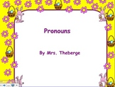 Pronouns during EASTER/ Spring SMART board activity