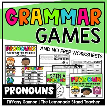 Pronouns for Primary Grades {A No-Prep Mini-Pack}