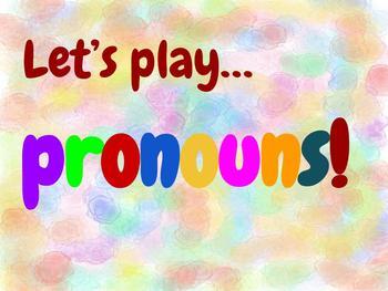 Pronouns for primary grades- Digital presentation