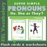 Pronouns - he, she and they
