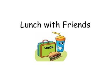 Pronouns lunch book