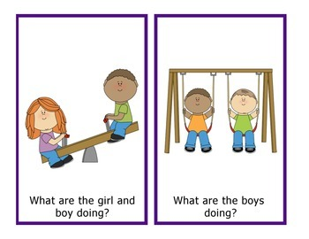 Pronouns with Action Words