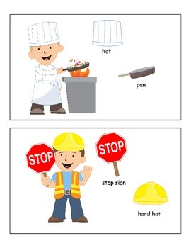 Pronouns with Community Helpers