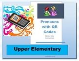 Pronouns with QR code self-check (Common Core friendly) wi