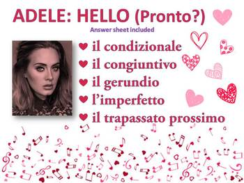 Pronto (Hello) Adele Valentine's day advanced