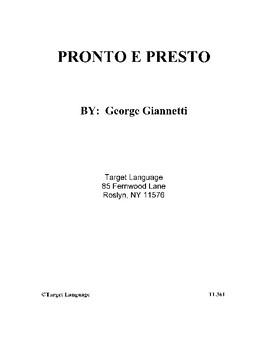 Pronto e Presto-First Collection