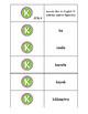 Spanish Pronunciation: Letter K - Rules, Practice Sheets & Flashcards