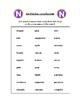 Spanish Pronunciation: Letters N & Ñ - Rules & Practice Sheets