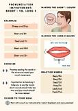 """Pronunciation Improvement : Short """"I"""" vs. Long """"E"""""""