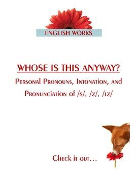 Pronunciation, Intonation, and Personal Pronouns