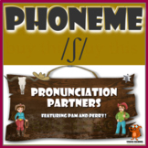 ★ Pronunciation Partners - /ʃ/ Articulation Word Search ★