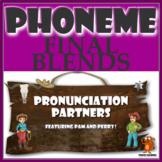 ★ Pronunciation Partners - Final Blends Articulation Word