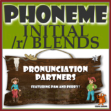 ★ Pronunciation Partners - Initial /r/ Blends Articulation Word Search ★