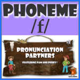 ★ Pronunciation Partners - /f/ Articulation Word Search ★