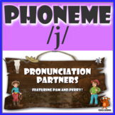 ★ Pronunciation Partners - /j/ Articulation Word Search ★