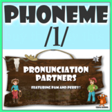 ★ Pronunciation Partners - /l/ Articulation Word Search ★