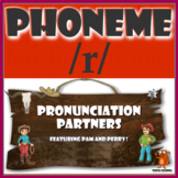 ★ Pronunciation Partners - /r/ Articulation Word Search ★