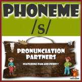 ★ Pronunciation Partners - /s/ Articulation Word Search ★