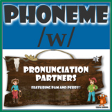 ★ Pronunciation Partners - /w/ Articulation Word Search ★